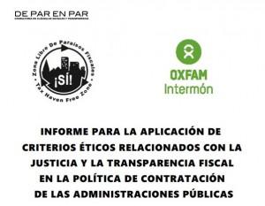 Informe Oxfam Intermón